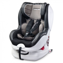 Autosedačka CARETERO Defender Plus Isofix graphite