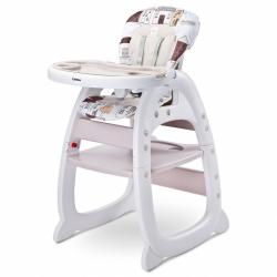 Jedálenská stolička CARETERO Home beige