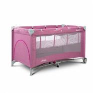Cestovná postieľka CARETERO Basic Plus Lavende
