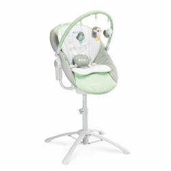 Detská jedálenská stolička 3v1 Caretero Kivi mint