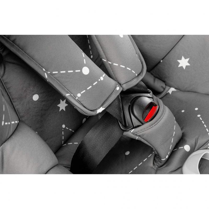 Autosedačka CARETERO Twisty Isofix i-Size grey