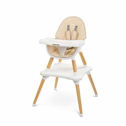 Jedálenská stolička CARETERO TUVA beige