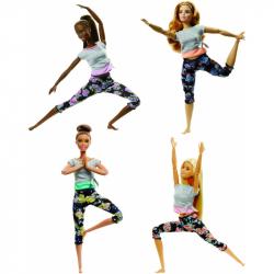 Barbie v pohybe