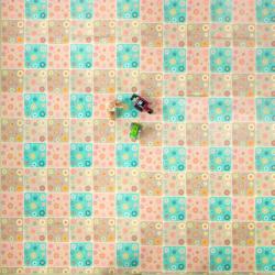Casmatino dětská skládací podložka Bloom Floor – 2100 x 2000 x 4
