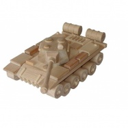 CEED Cavity - prírodné drevené auto - Tank - ruský