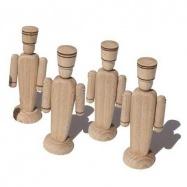 Ceeda Cavity - dřevěné hračky - Vojáček 1 ks