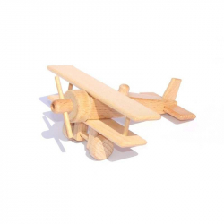 Ceeda Cavity - drevené lietadlo dvojplošník
