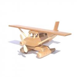CEED Cavity - drevené lietadlo Hydroplán natur