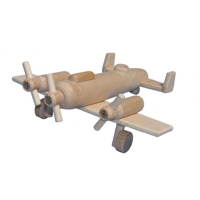 Ceeda Cavity - dřevěné letadlo bombardér II.