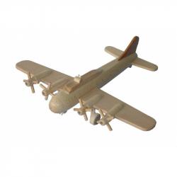 CEED Cavity - drevené lietadlo Bombardér B17 veľký