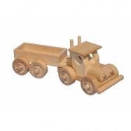 CEED Cavity - prírodné drevené auto - TIR s korbou