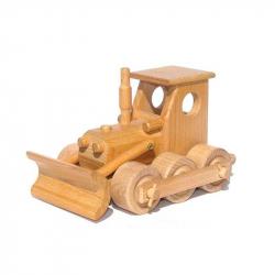 Ceeda Cavity - prírodné drevené auto - Buldozér