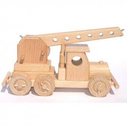 Ceeda Cavity - prírodné drevené auto - Autožeriav