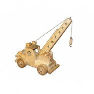 Ceeda Cavity - drevené auto - Žeriav