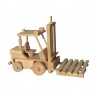 Ceeda Cavity - drevené auto - Vysokozdvižný vozík