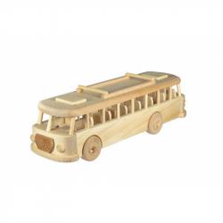 CEED Cavity - prírodný drevený retro autobus