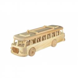 Ceeda Cavity - prírodný drevený retro trolejbus