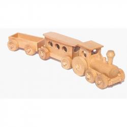 CEED Cavity - prírodný drevený vláčik - Osobný vlak