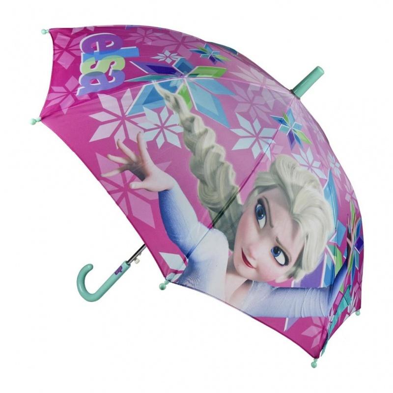 Deštník dětský  Ledové království růžový