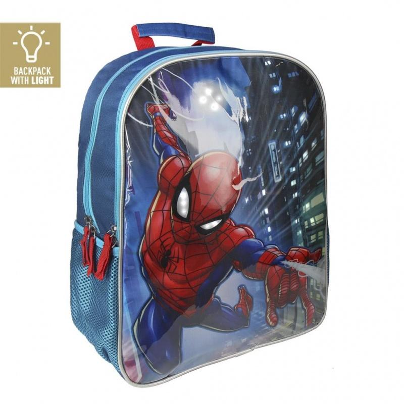 2b5690e78d Školský batoh Spiderman svietiace