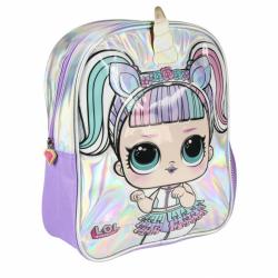 Dětský batůžek 3D L.O.L. duhový