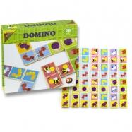 Domino drevené chrobáčiky 28 ks