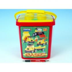 Stavebnica Cheva 2 Basic plast 352 ks vo vedre