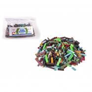 Stavebnica Cheva Taška Plná Kociek plast Army sada 2 kg v plastovej taške