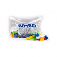 Stavebnica Cheva plast 70ks kociek v plastovej taške