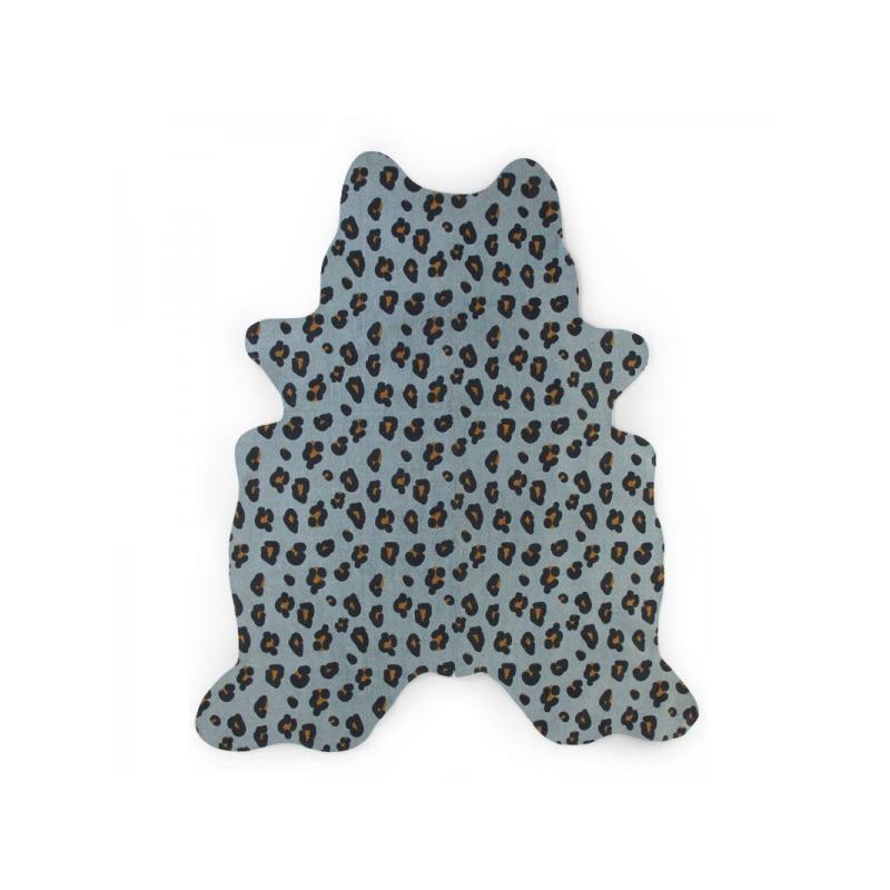 Koberec Leopard modrý 145x160 cm