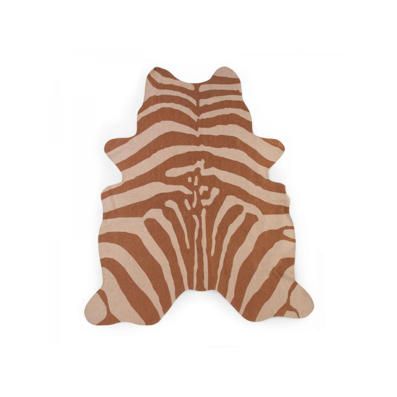 Koberec Zebra hnedý 145x160 cm