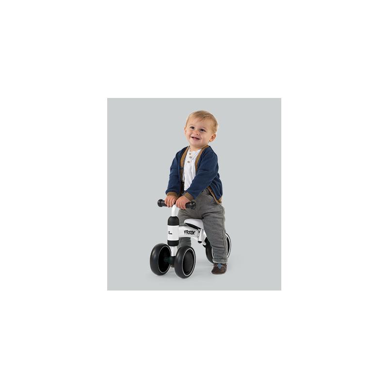 Dětské odrážedlo Baby Bike Vroom Grey
