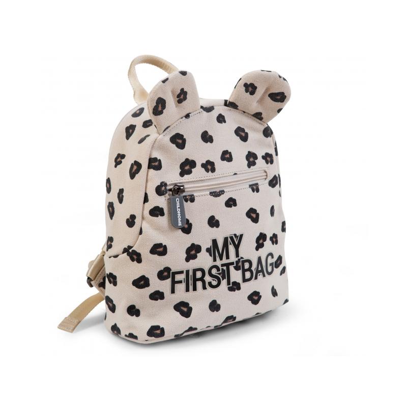 Detský batoh My First Bag Canvas Leopard