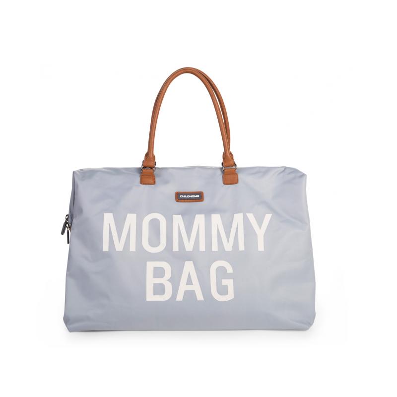 Prebaľovacia taška Mommy Bag Grey Off White