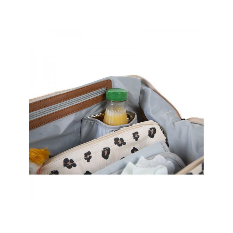 Přebalovací taška Mommy Bag Canvas Leopard