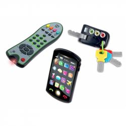 Trio set Tech Too - kľúče, ovládač a telefón