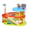 Dřevěné hračky - Garáže - Patrová dřevěná garáž pro auta