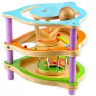 Drewniane zabawki - Drewniana zjeżdżalnia