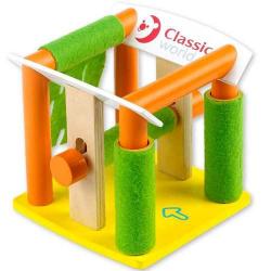 Drevené hračky - Garáže - Drevená automyčka