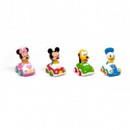 Displ. 18ks - Disney Baby Soft and Go Autíčko