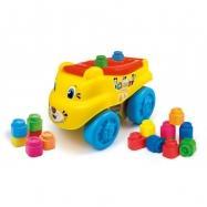 Clemmy baby – tygrysi wagon z klockami