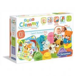 CLEMMY baby - kocky s knižkou, domáce zvieratá