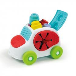 CLEMMY baby - kýblik s kockami - autíčko