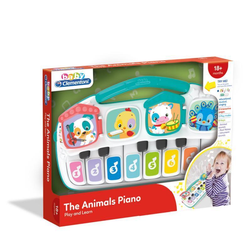 Detské elektrické piano so zvieratkami