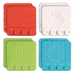 CLEMMY baby - senzorické podložky s kockami
