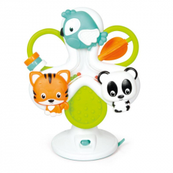 Baby interaktívne volant - kolotoč so zvieratkami