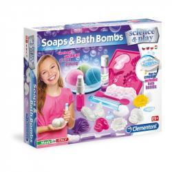 Detské laboratórium - Výroba mydla a kúpeľových bômb