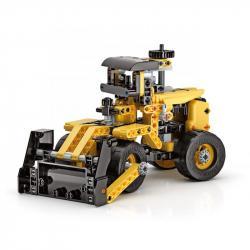 Mechanická laboratoř - Buldozer, 10 modelů, 200 dílků