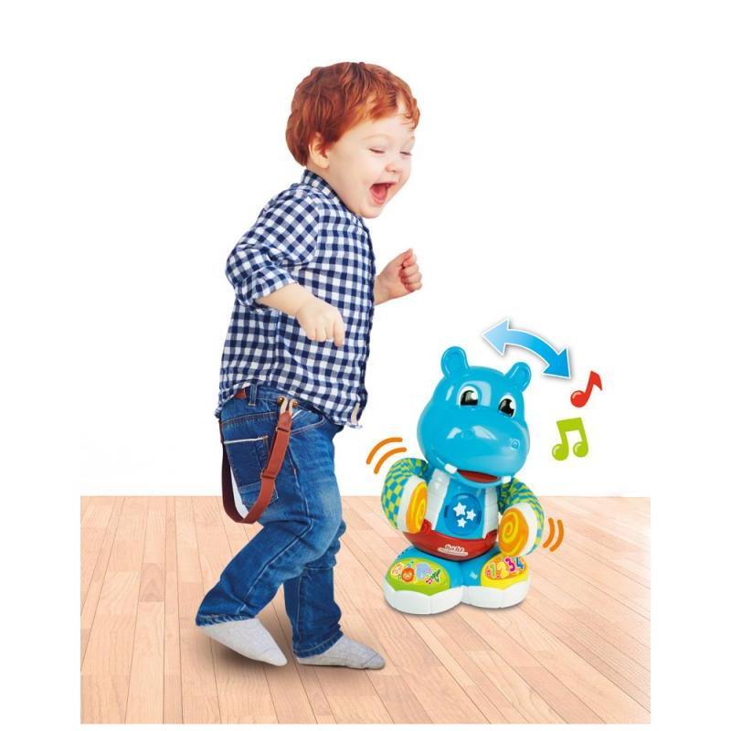 Interaktivní tancující hroch Filip