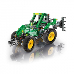 Mechanické laboratórium - Farmársky traktor, 10 modelov, 200 dielikov